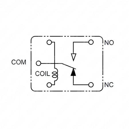 Relè CQ1-12V-ACQ131