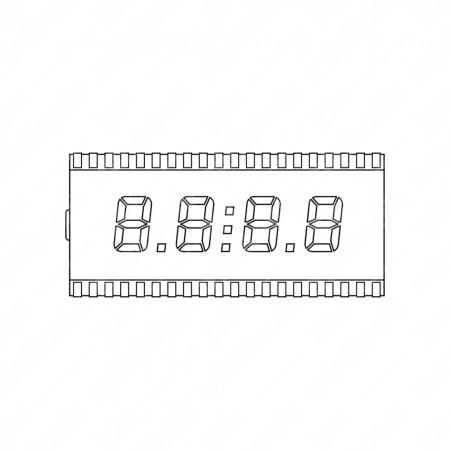 Display LCD per trattori e macchine agricole Deutz-Fahr, Same, Lamborghini e Hürlimann