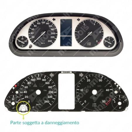 Supporto tasto reset per contachilometri Mercedes Classe A e B