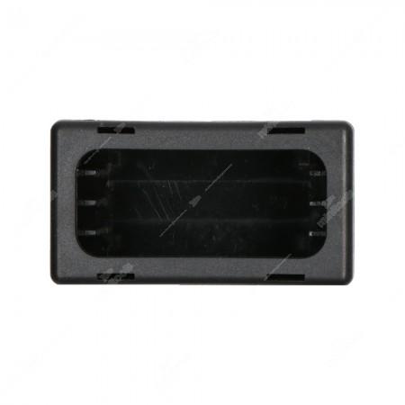 Contenitore per componenti elettronici in ABS V0, vista laterale