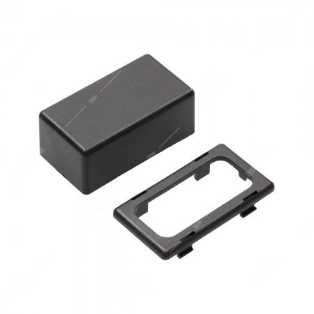 Contenitore in ABS V0 per elettronica, vista lato inferiore