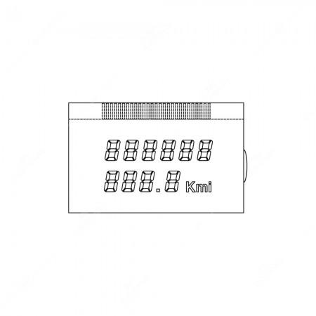 Display LCD per contachilometri Alfa Romeo 166