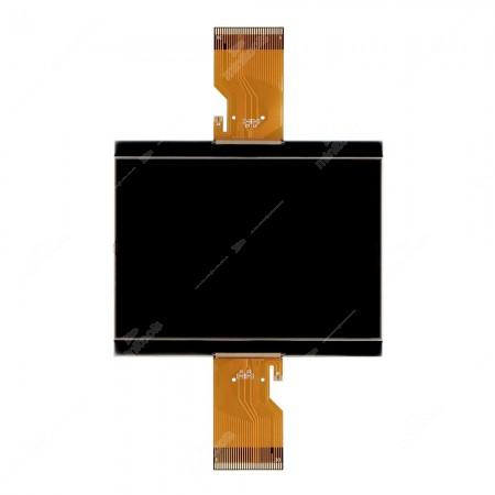 Display LCD con FPC per la riparazione del contachilometri di: Daf CF, LF, XF (2002-2013) e Temsa MD7 Plus (fino al 2020) e MD9 (fino al 2020)