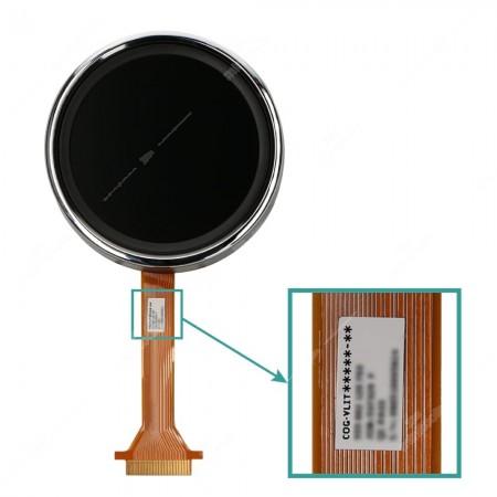 Dove trovar codice originale su display LCD per la riparazione del contachilometri della  Fiat 500 (modelli dal 2007), Abarth 500 (2008-2014), Abarth 595 (2011-2014) e Abarth 695 (2009-2014)