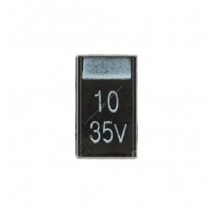 Condensatore al tantalio SMD 10uF 35V - Confezione da 10 pz.