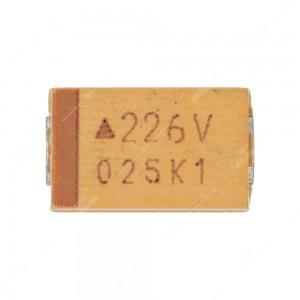 Condensatore al tantalio SMD 22uF 35V - Confezione da 10 pz.