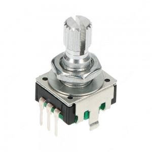 Encoder di ricambio per apparecchiature elettroniche. Dimensioni: 12,4x13,4x21,5h mm