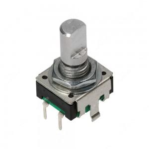 Encoder di ricambio con tasto a pressione per apparecchiature elettroniche - 12 ppr