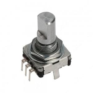 Encoder di ricambio con tasto a pressione per apparecchiature elettroniche - 15 ppr - 30 scatti