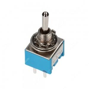 Deviatore / Interruttore a leva SPDT on-on con 6 pin (13,2x12,7mm)