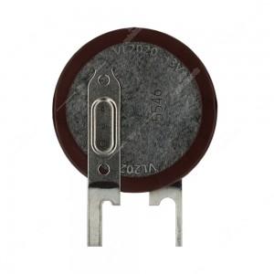 Batteria / pila a bottone al litio ricaricabile VL2020 3V