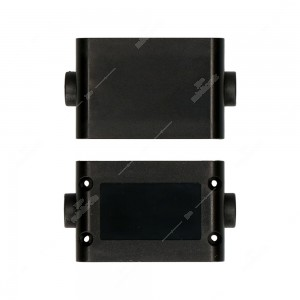 Contenitore per elettronica con doppio passacavo