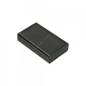 Box per circuiti stampati e e dispositivi elettronici in ABS V0 con riquadro per etichetta