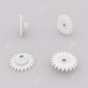 Ingranaggio (20 denti esterni - 23 interni) per contachilometri Porsche