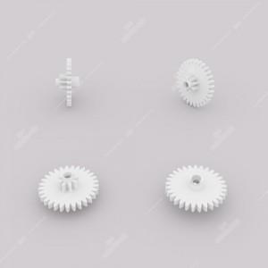 Ingranaggio (29 denti esterni - 8 interni) per motorini contachilometri Audi, Mercedes, Nissan, Opel, Rover, Seat, Skoda e Volkswagen