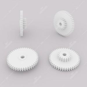 Ingranaggio (44 denti esterni - 17 interni) per contachilometri elettronico BMW