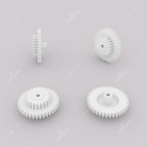 Ingranaggio (38 denti esterni - 23 interni) per quadri strumenti Moto Meter e VDO