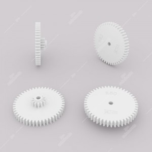 Ingranaggio (47 denti esterni - 12 interni) per contachilometri Mercedes R107