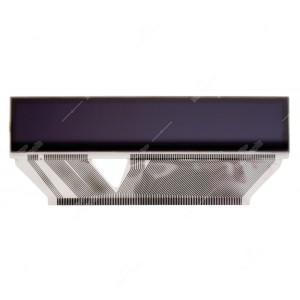 Display LCD di ricambio + Flat per infocenter SID Saab 9.3 / 9.5