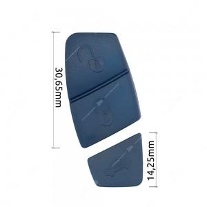 Gommini blu per chiavi Fiat e Lancia (30,65 + 14,25mm)