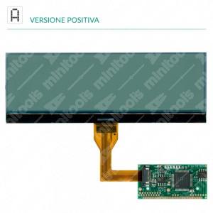 Display LCD per la riparazione del computer di bordo Magneti Marelli e Borg per Citroën C4, C5, C8, Fiat Ulysse, Lancia Phedra e Peugeot 207, 307, 407, 508, 807, 3008