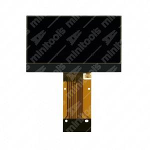 Display centrale LCD per la riparazione di contachilometri Porsche Cayman e 911 Carrera (997)