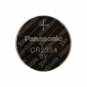 Batteria a bottone, al litio, Panasonic CR2354