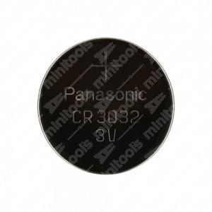 Batteria a bottone, al litio, Panasonic CR3032