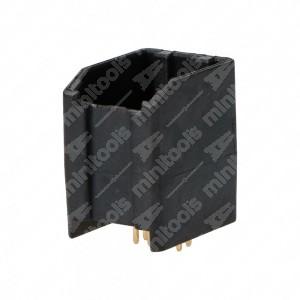 Connettore 4+4 pin maschio