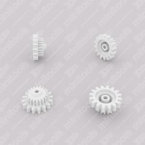 Ingranaggio (16 denti esterni - 20 interni) per contachilometri Mercedes W126 e R107