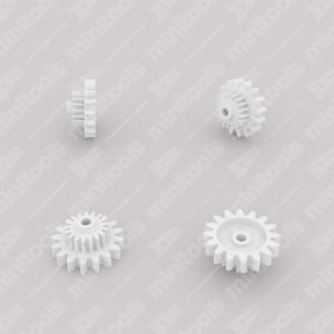 Ingranaggio (16 denti esterni - 17 interni) per contachilometri Mercedes W126 e R107