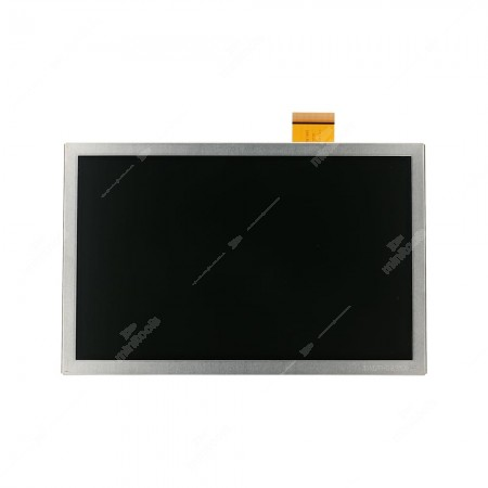 Replacement LCD, TFT, display without touchscreen for Citroën, DS, Fiat and Peugeot car stereo infotainment sat nav LCD pixel repair, front side
