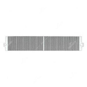 0 Flat a 106 pin, Misure: 70,5x13mm