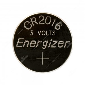 0 Batteria a bottone, al litio Energizer CR2016 3V Diam. 20x1,6mm 90mAh