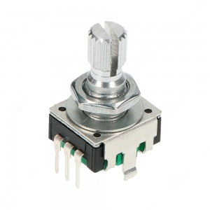 Incremental rotary encoder, 24 ppr, without push switch