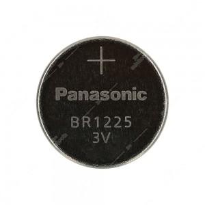 0 Batteria a bottone, al litio Panasonic BR1225 3V - 12x2,5mm 48mAh 0,03mA
