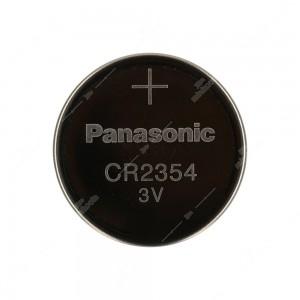 0 Batteria a bottone, al litio Panasonic CR2354 3V - 23x5,4mm 360mAh 0,2mA