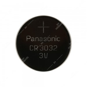 0 Batteria a bottone, al litio Panasonic CR3032 3V - 30x3,2mm 500mAh,0,2mA