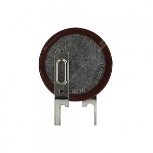 0 Batteria ricaricabile Panasonic Li VL2020 3V 20mAh Leads: 2 pin,20x2,7mm