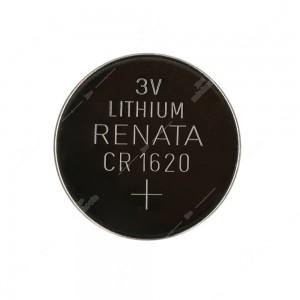 0 Batteria a bottone, al litio Renata CR1620 3V Diam. 16x2mm 70mAh