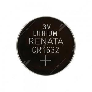 0 Batteria a bottone, al litio Renata CR1632 3V Diam. 16x3,2mm 125mAh