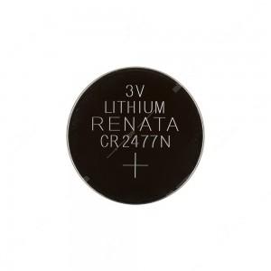0 Batteria a bottone, al litio Renata CR2477N 3V Diam. 24,5x7,7mm 950mAh