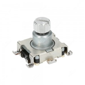 Mechanical rotary encoder without push-on switch