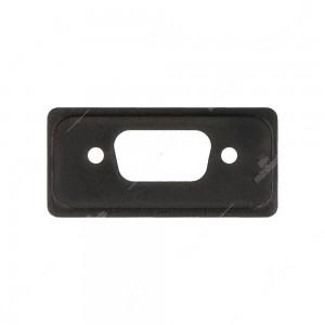 0 OBD2 componibile - Tappo laterale fresato per connettore 9 poli