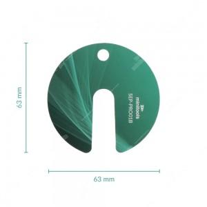 Protective disc for instrument panel gauges faces - 10 pcs pack