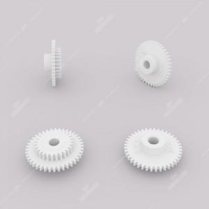 Gear (40 external - 26 internal teeth) for Porsche 911 930 and Ruf dashboards (miles version)