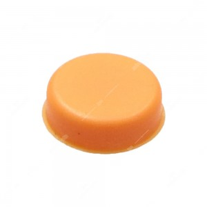 0 Gommino adattabile chiavi auto - diam. 13,8mm - Colore arancio