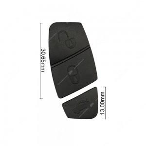 0 Gommino adattabile chiavi auto (2 pz, colore Nero) Mis. 30,65mm + 13mm