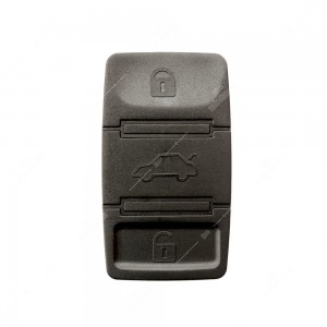 0 Gommino adattabile chiavi auto a tre tasti - 21,6x37,2mm