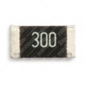 1206 Resistor 300R. 25 pcs per pack.